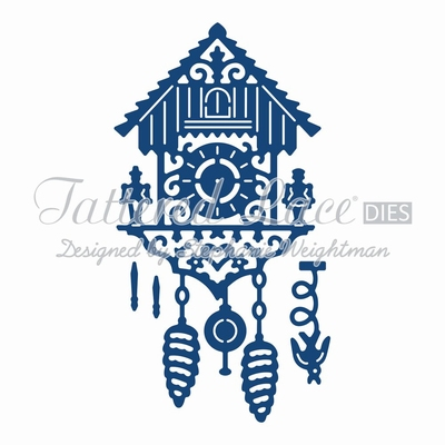 Tattered Lace Spinning Charm Cuckoo Clock (ACD767)
