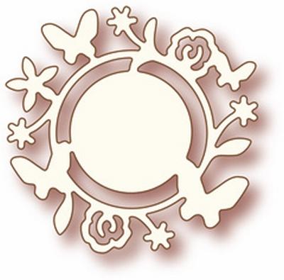 Specialty die - Flower circle