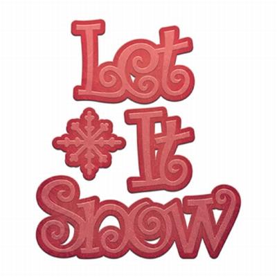Die D-Lites S2-183 Let it Snow