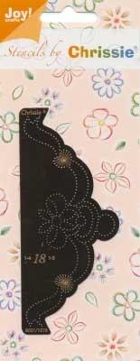 6001/1018 Chrissie stencil