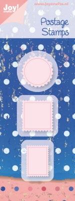 6002/0324 Snij- en Embossing stencil Postage Stamps (3st)