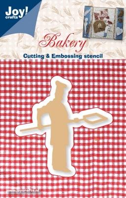 6002/0308 Snij- en Embossing stencil bakker