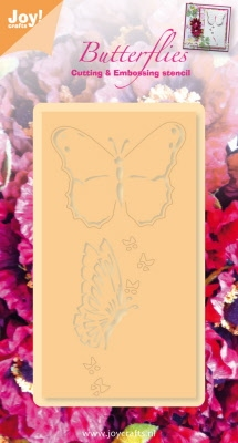 6002/0274 Snij- en emboss stencil vlinders