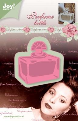 6002/0228 Cutting & Embossingmal - parfum flesje verstuiver