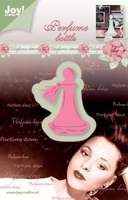 6002/0226 Cutting & Embossingmal - parfum flesje rond
