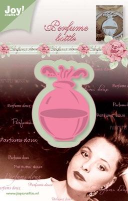 6002/0225 Cutting & Embossingmal - parfum flesje rond
