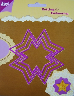 6002/0104 Cutting & Embossing stencil