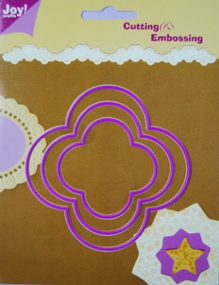 6002/0103 Cutting & Embossing stencil