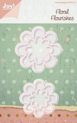 6002/0159 Cutting mal - Floral Flourishes - Bloem 4 (4st)