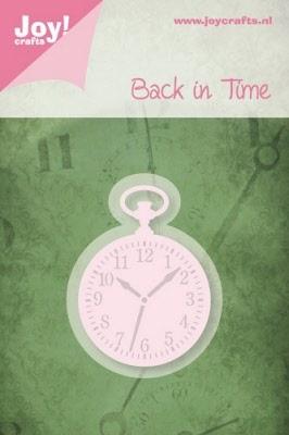 6002/0218 Cutting & Embossingmal - Back in Time - Zakhorloge
