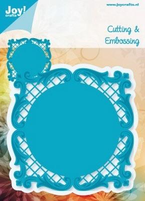 6002/0147 Cutting & Embossingmal - Blauwe mal - Frame vierka