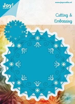 6003/1001 Cutting & Embossingmal - Blauwe mal - Doilies 1
