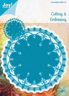 6003/1002 Cutting & Embossingmal - Blauwe mal - Doilies 2