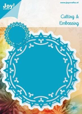 6003/1003 Cutting & Embossingmal - Blauwe mal - Doilies 3