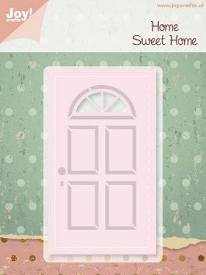 6002/0196 Cutting & Embossingmal - Home Sweet Home - Deur