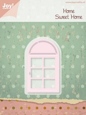 6002/0197 Cutting & Embossingmal - Home Sweet Home - Raam