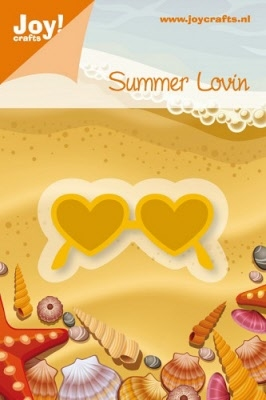 6002/0175 Cutting & Embossingmal - Summer Lovin - Zonnebril