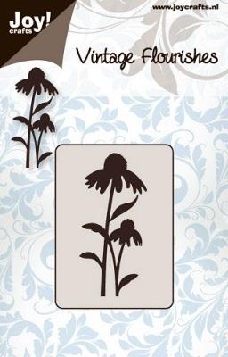 6003/0030 Cutting mal - Vintage Flourishes - Bloem/bladeren