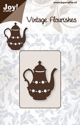 6003/0020 Cutting mal - Vintage Flourishes - Theepot