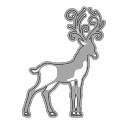Rococo Christmas - Reindeer Die