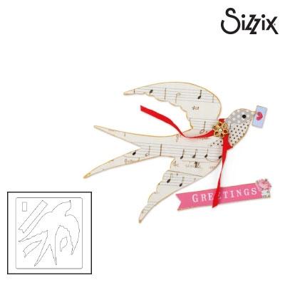 Sizzix Bigz Die flying bird