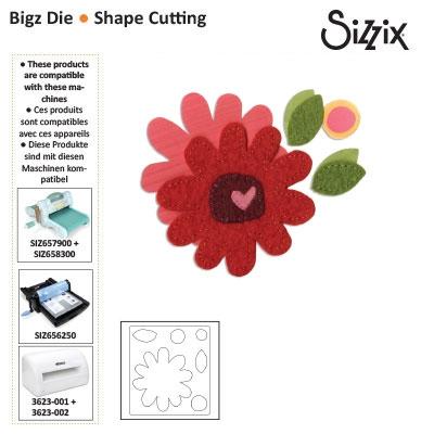 Sizzix Bigz die flower #5