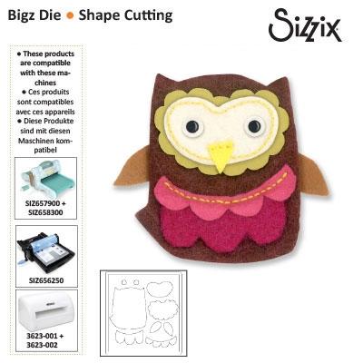 Sizzix Bigz die owl