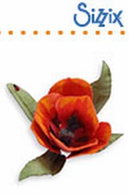 Sizzix SG thinlits dies flower tulip