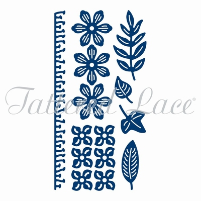 Tattered Lace Botanical Blooms (ACD1008)