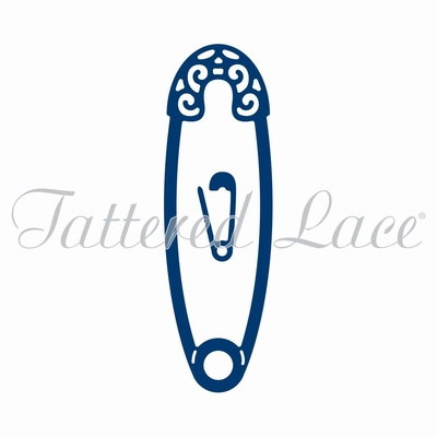 Tattered Lace Safety Pin (ACD963)