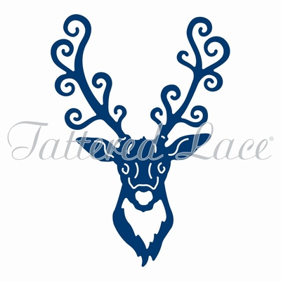 Tattered Lace Stag Head (ACD1012)