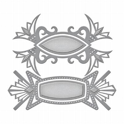 Shapeabilities S4-605 Art Deco Tags
