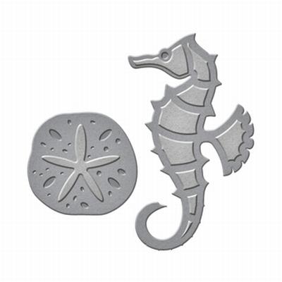 Shapeabilities Die D-lites S1-015 Seahorse & Sand Dollar