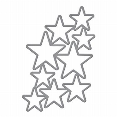 Shapeabilities S5-244 Cascading Stars