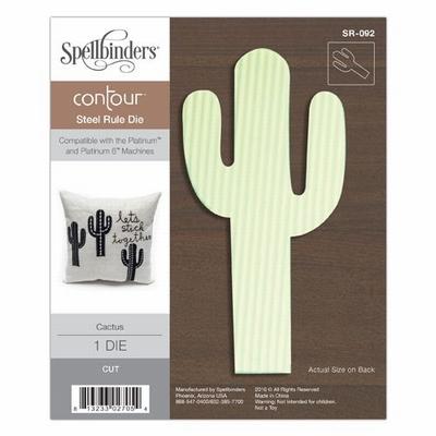 Cactus Contour Steel Rule Die (SR-092)