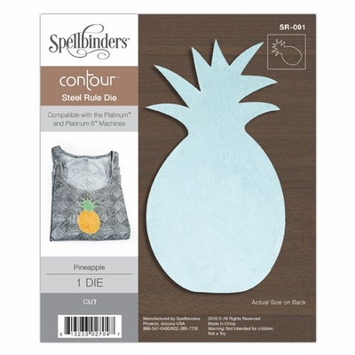Pineapple Contour Steel Rule Die (SR-091)