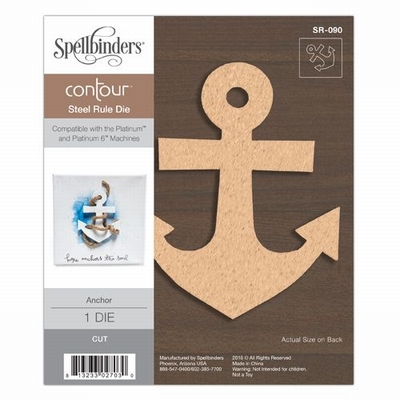 Anchor Contour Steel Rule Die (SR-090)