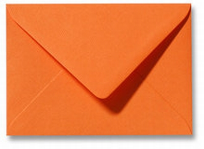 05 Envelop 11,0x15,6 CM Fiore Oranje