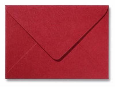 17 Envelop 11,0x15,6 CM Metallic Red