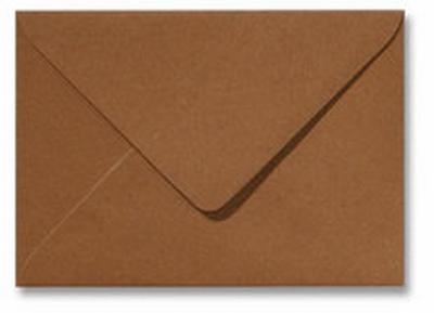 18 Envelop 11,0x15,6 CM Metallic Bronze