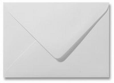 02 Envelop 12x18 CM Metallic White
