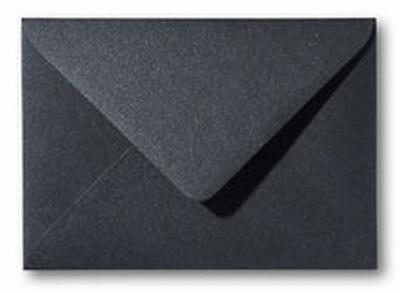 15 Envelop 12x18 CM Metallic Black