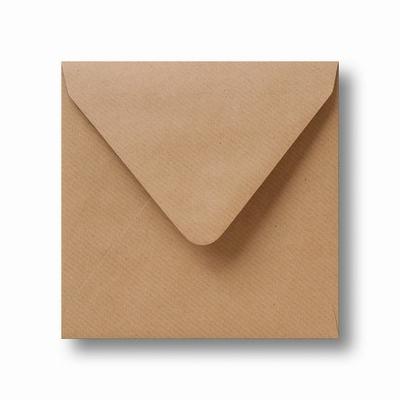 04 Envelop Kraft 12,5x14 CM Lichtbruin