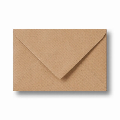 05 Envelop Kraft 13x18 CM Lichtbruin