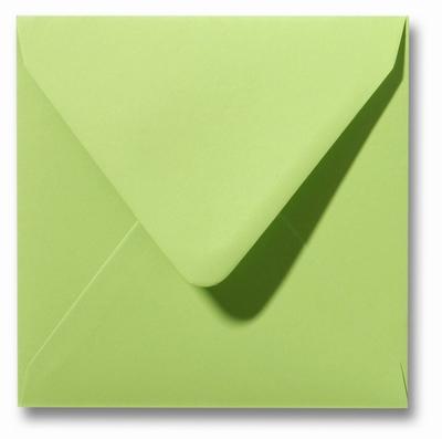 04 Envelop 12x12 cm Roma Lindegroen
