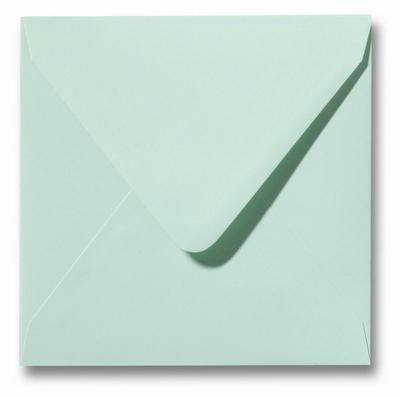 22 Envelop 12x12 cm Roma Lentegroen