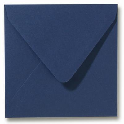 33 Envelop 12x12 cm Roma Donkerblauw