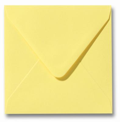 08 Envelop 14x14 cm Roma Kanariegeel