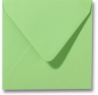 09 Envelop 14x14 cm Roma Appelgroen