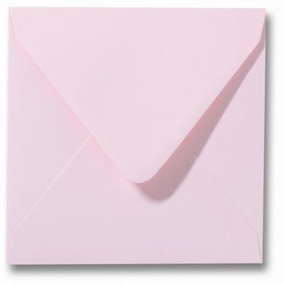 15 Envelop 14x14 cm Roma Lichtroze